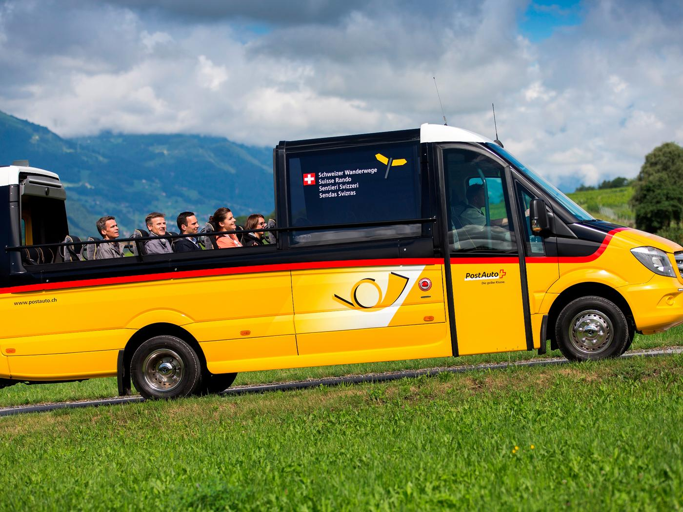 Image result for schweiz new cabriolet postbus hits the road
